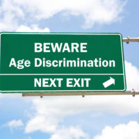 Beware age discrimination sign