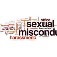 Sexual misconduct sign