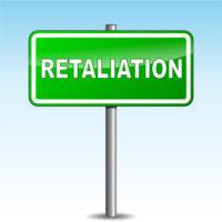 The retaliation sign