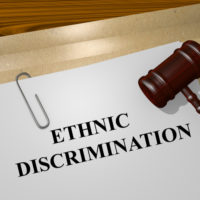 Ethnic discrimination folder