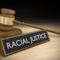 Racial Justice sign