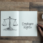 Book that reads employee rights