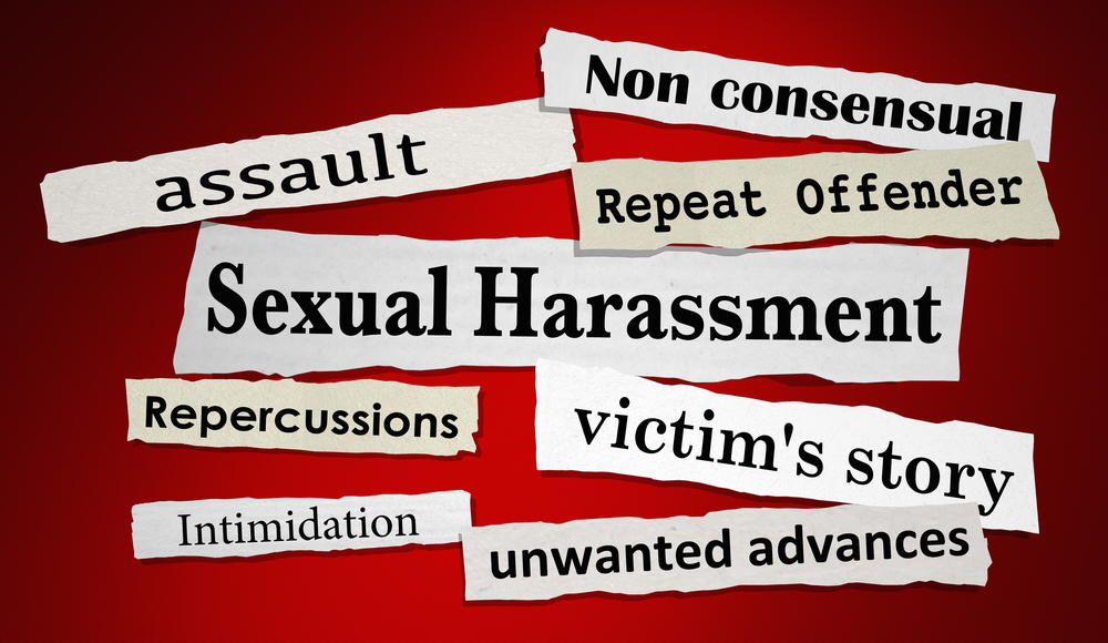 Florida sexual harassment poster