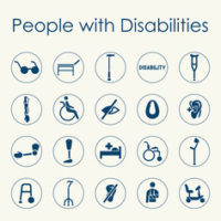 People w: Disabilites