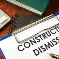 a Constructive Dismissal clipboard