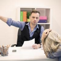 boss fires a woman