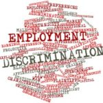 Ball that reads employment discrimination