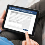Applying for workers compensation on an iPad