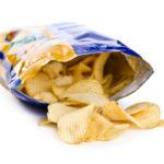 potato chips in bag