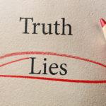 Lies red circle