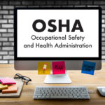 'OSHA' displayed on desktop screen