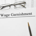 document that reads wage garnishment