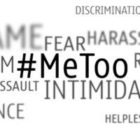 #MeToo sexual harassment wordcloud