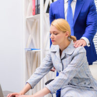 female sexually harassed at workplace