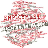 Word cloud for Employment discrimination