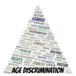 Age Discrimination - type of discrimination - word cloud.