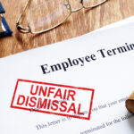 Unfair dismissal stamp on the Employee Termination.