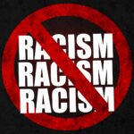 Social problems of humanity. Stop racism.