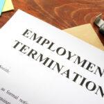 Emploinment termination letter. Unfair dismissal concept.