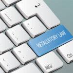 retaliatory law written on the keyboard button