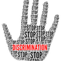 Stop discrimination sign