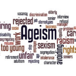 Ageism word cloud concept