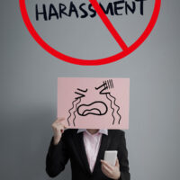 stand against sexual harassment