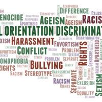 Sexual Orientation Discrimination - type of discrimination - word cloud.