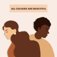 Stop racism. Black lives matter, we are equal.