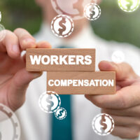 Workers Financial Compensation Insurance Business Industry Concept.