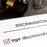 Age discrimination claim in the court.