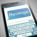 Revenge message concept.