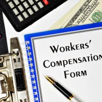 Workers' compensation form - text inscription on the form in the folder of the office Registrar. Monetary remuneration, depending on the qualification, complexity, quantity, and conditions.